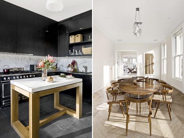 54 Bond Street - kitchen and dining room