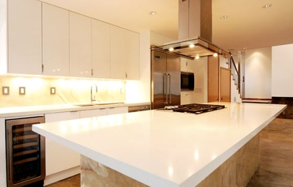 Kitchen at Casamopolitan - view from east